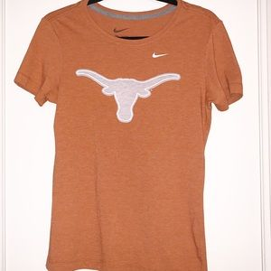 Nike Texas Longhorns Medium Slim Fit Tee Shirt